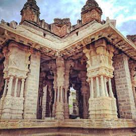 Group of Monuments at Hampi, Karnataka India by Ayan Chowdhury - Buildings & Architecture Statues & Monuments ( monuments, ancient, majestic, art, indian, architecture, historical, photography, karnataka )