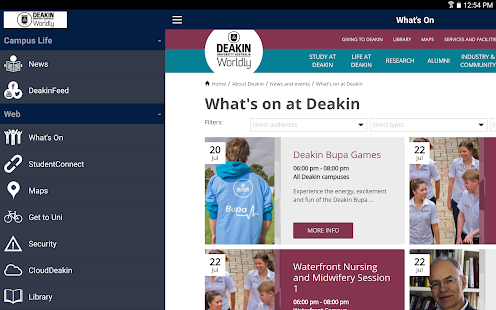 Deakin University - screenshot