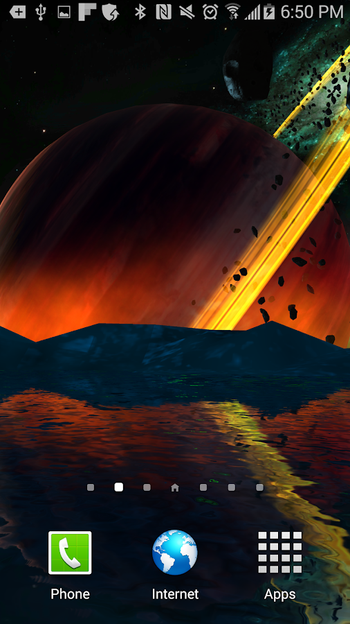 Far Galaxy 3D Live Wallpaper Screenshot 6