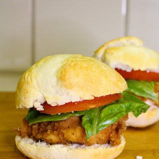 Crispy Chicken Bisquick Biscuit Sliders Recipe!