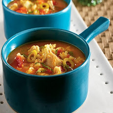 Spicy Chicken-Rice Soup