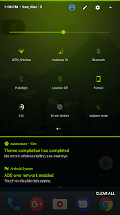 [Substratum] Neon Green Theme Screenshot