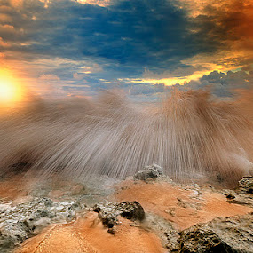 high tide by Tut Bolank - Landscapes Waterscapes ( kuta, bali, sea breeze, dream land beach )