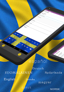 GO Keyboard Swedish SV - screenshot