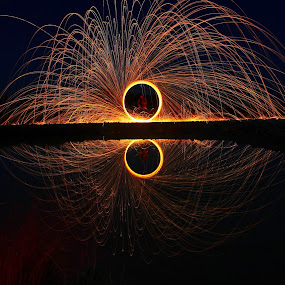 steel wool different perspective by Ahsan  Niaz - Abstract Fire & Fireworks ( firework, steelwool, long exposure, professional people, photography,  )