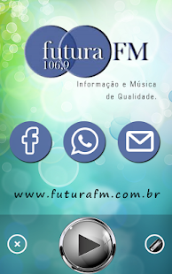 Rádio Futura FM 106,9 - screenshot