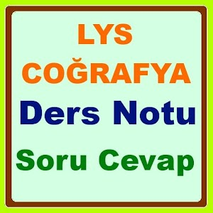 Download Download LYS Coğrafya Ders Notu for PC on Windows and Mac for Windows Phone