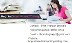 We are Experts in Dissertation Writing Services in Indore