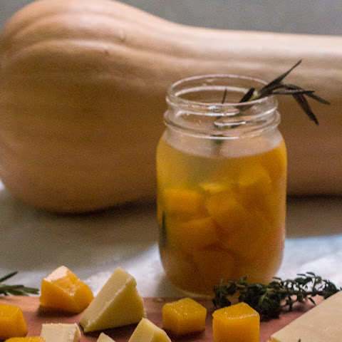 Middle Eastern spiced butternut squash pickles, or the pickle for when you want to slow things down