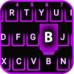 Purple Neon Emoji Keyboard 1.1 Apk