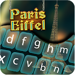 Paris Eiffel Keyboard Icon