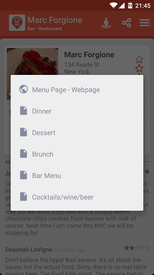 Restaurant Finder Screenshot 6