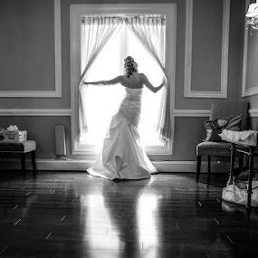 by Steven C. Bloom - Wedding Getting Ready