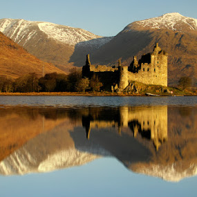 Kilchurn Castle by Wolfy Pic - Landscapes Mountains & Hills