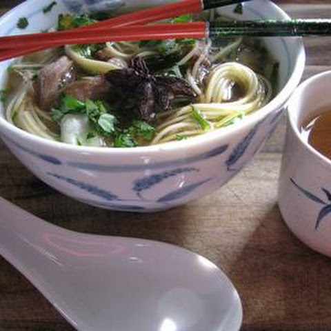 Heavenly Pork & Noodle Soup