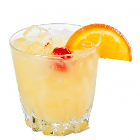 Frozen Whiskey Sour Cocktail