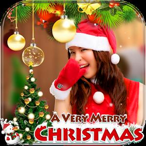 Christmas Photo Frame : Cake & Photo Card Maker Online PC (Windows / MAC)