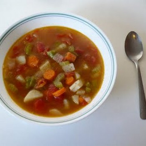 Home-Style Mixed Vegetable Soup