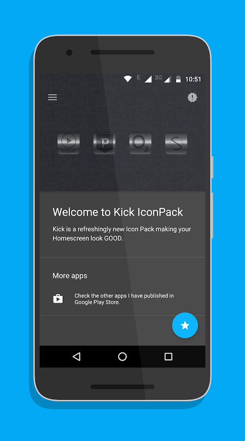 Kick Icon Pack Screenshot 1