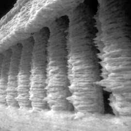 Architect? The Wind by Michal Fokt - Buildings & Architecture Other Exteriors ( ice, snow, night )
