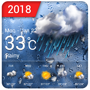New 2018 Weather App & Widget