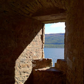 Loch Ness, Scotland  by Cris Horvath - Buildings & Architecture Public & Historical