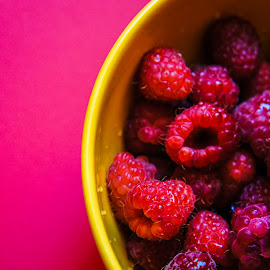 Raspberry Passion by Georgiana Grigore - Novices Only Objects & Still Life ( fruit, raspberry, fruits, pink, passion )