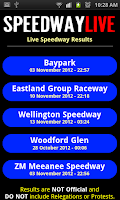 Screenshot of Speedway Live