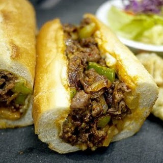 Korean-Style Philly Cheesesteaks