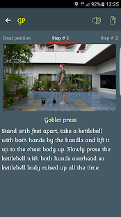 Kettlebells - 100 exercises- screenshot thumbnail