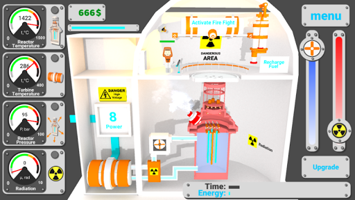 Nuclear inc 2 - nuclear power plant simulator For PC