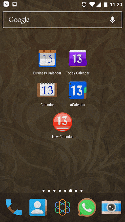 LeatherEx Icon Pack Screenshot 5