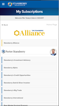 Stansberry Research APK screenshot thumbnail 2