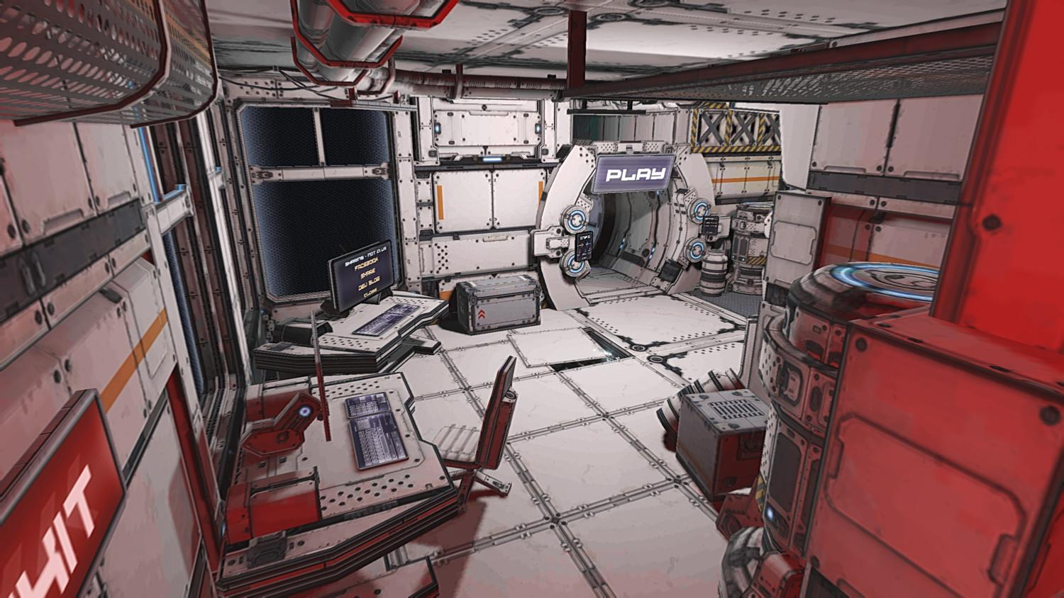 End Space VR for Cardboard Screenshot 3