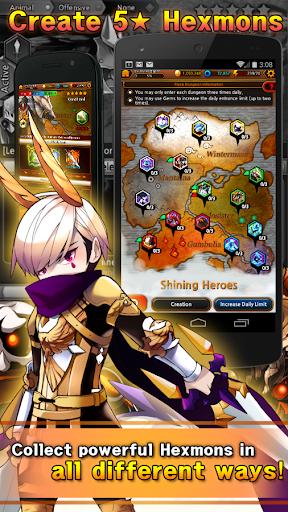 Hexmon Adventure - screenshot