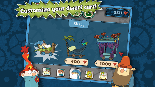 The 7D Mine Train - screenshot