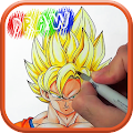 Download How to Draw DBZ Characters APK on PC
