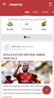 Screenshot of Selección Española Juegalaroja