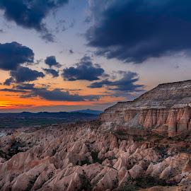 Red Valley by Serhan Tekin - Landscapes Sunsets & Sunrises