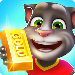 Talking Tom Gold Run for PC-Windows 7,8,10 and Mac