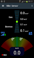 Screenshot of Bike Sensor