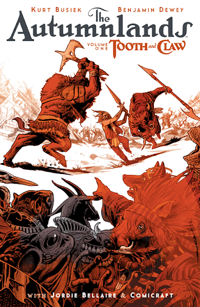 The Autumnlands Volume 1 Cover