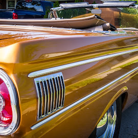 64 Falcon from RR by Pat Lasley - Transportation Automobiles ( car, classic car, ford falcon, falcon, ford )