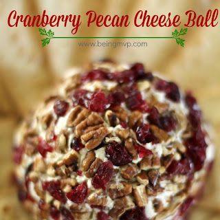 Holiday Cranberry-Pecan Cheese Ball {Recipe} + $50 Walmart Gift Cards #Giveaway #CookingUpGood #coupon #ad