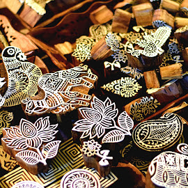 Blocks by Sudhakar Kumar - Abstract Patterns ( craft, pattern, artistic, india, blocks )
