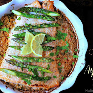 Salmon and Asparagus Bake