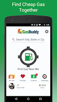Screenshot of GasBuddy - Find Cheap Gas