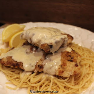 Chicken with Creamy Lemon Sauce