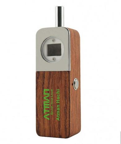 2017 Best Selling Hachi Prime Wooden Pipe Handheld Vaporizer For Dry Herb Weed