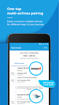 Traveloka Book Flight & Hotel APK screenshot thumbnail 2